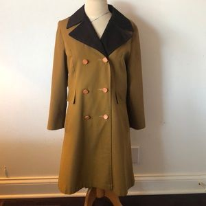 Jackets & Blazers - Vintage 50's trench coat size M (6)